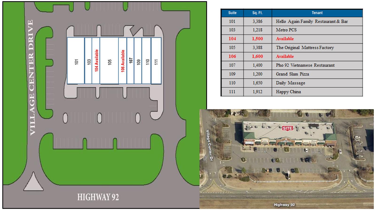 Wetherstone site plan - Weatherstone Promenade