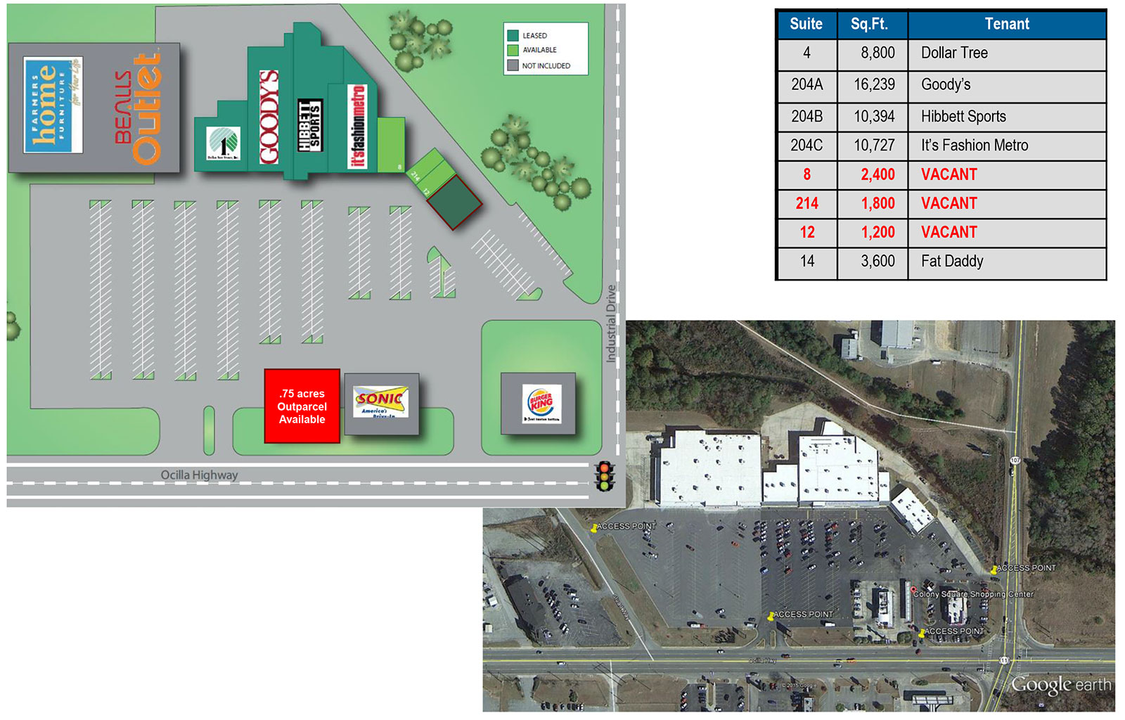 Colony Square Site Plan - Colony Square