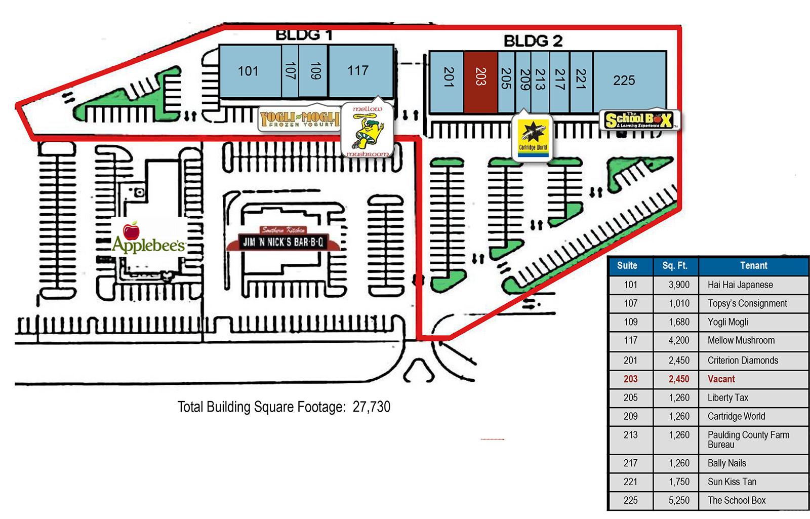 Hiram Square Site Plan - Hiram Square