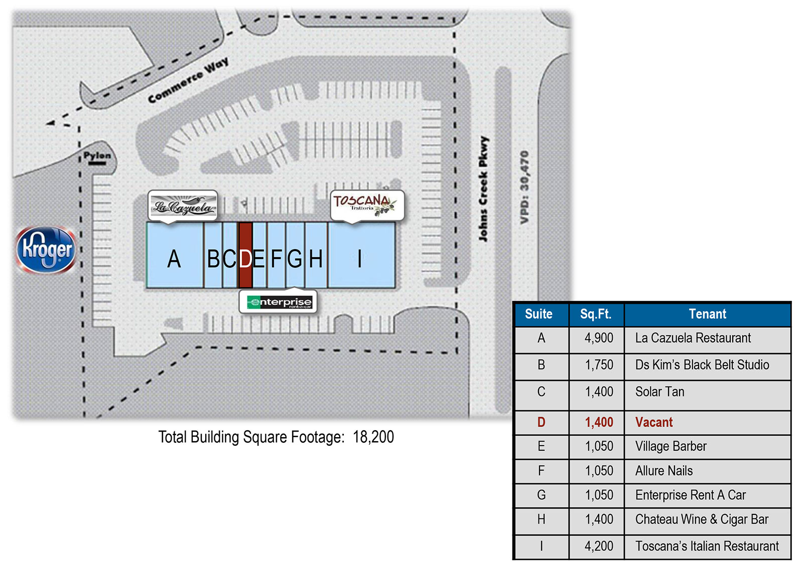 Shops at Johns Creek Site plan - Shops at Johns Creek