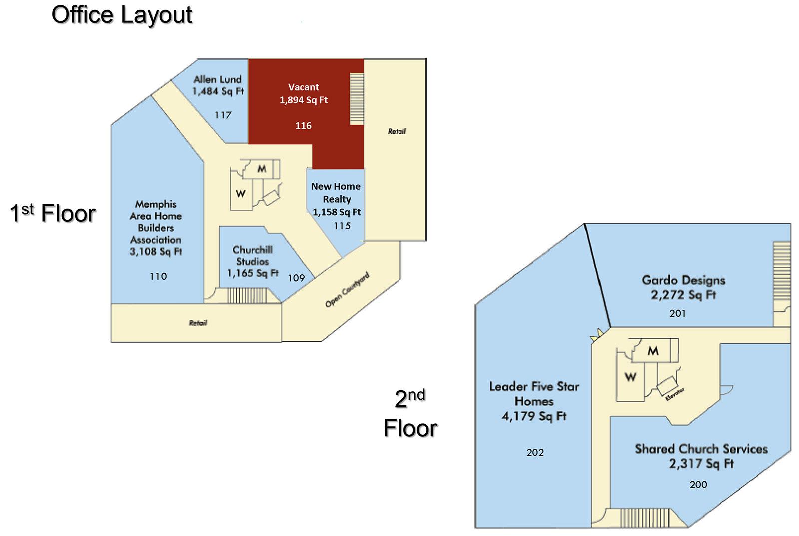 Trinity Office Layout - Trinity Place
