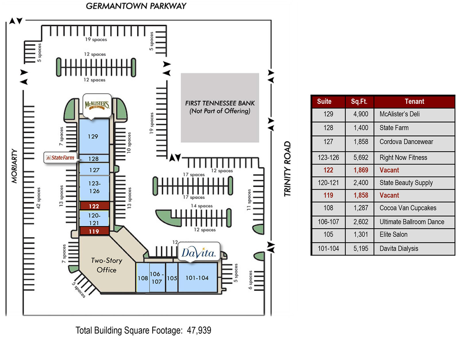 Trinity Site Plan - Trinity Place